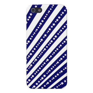 Patriotic Stars Stripes Freedom Flag 4th of July iPhone 5/5S Cover