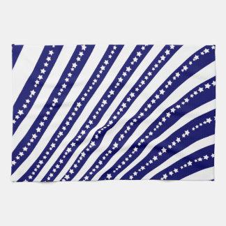 Patriotic Stars Stripes Freedom Flag 4th of July Towel