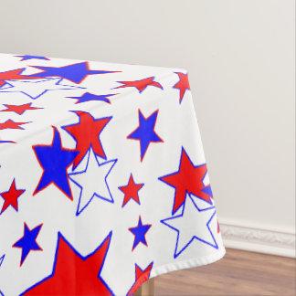Patriotic Stars Tablecloth
