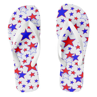 Patriotic Stars Thongs