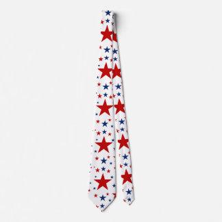 Patriotic Stars Tie