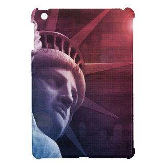 Patriotic Statue of Liberty iPad Mini Cases