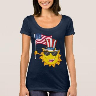 Patriotic Sun T-Shirt