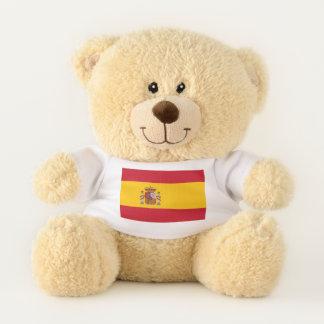 Patriotic Teddy Bear flag of Spain