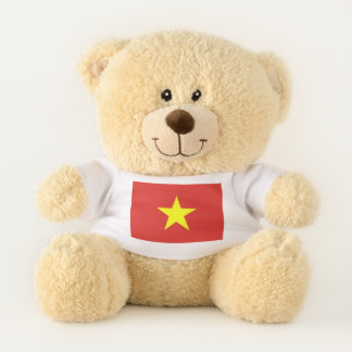 Patriotic Teddy Bear flag of Vietnam