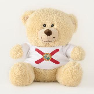 Patriotic Teddy Bear with flag of Florida