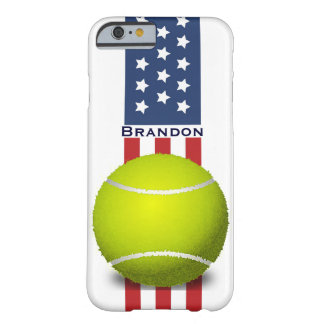Patriotic Tennis Design iPhone 6 Case Barely There iPhone 6 Case