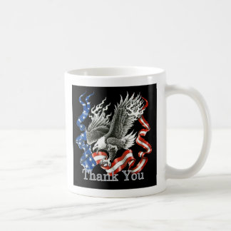 Patriotic Thank You Veterans Day Mug
