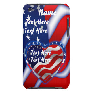 Patriotic Theme  Important See Notes Case-Mate iPod Touch Case