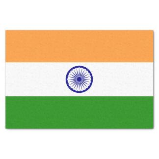 Patriotic tissue paper with flag of India