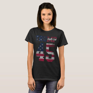 Patriotic Trump 45th President Inauguration T-Shirt