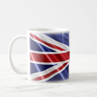 Patriotic Union Jack Flag Coffee Mug