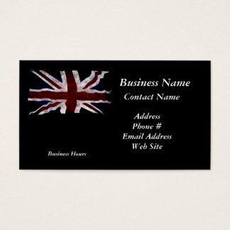 Patriotic Union Jack UK Union Flag Business Cards