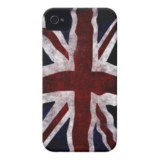 Patriotic Union Jack UK Union Flag iPhone 4 Cases
