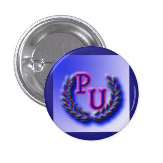 Patriotic Union Party Logo 3 Cm Round Badge