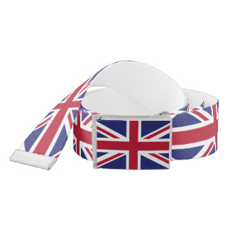 Patriotic United Kingdom Flag Belt