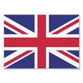 Patriotic United Kingdom Flag Photographic Print