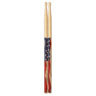 Patriotic US Flag United States Drumsticks