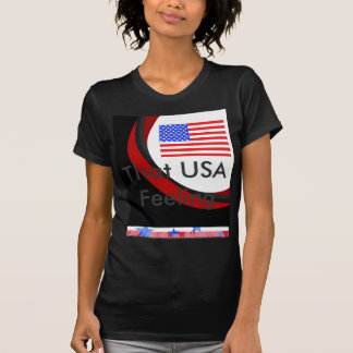 Patriotic USA American Flag 4th of July T-Shirt