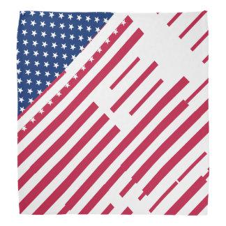 Patriotic USA American Flag Stripes Stars Bandanna