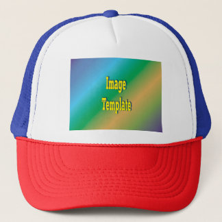 Patriotic USA Ball Cap Template