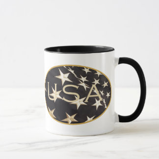 Patriotic USA Coffee Mug