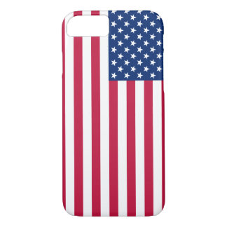 Patriotic USA Flag Stars and Stripes iPhone 7 Case
