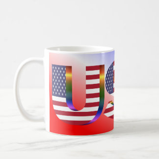 Patriotic USA mug