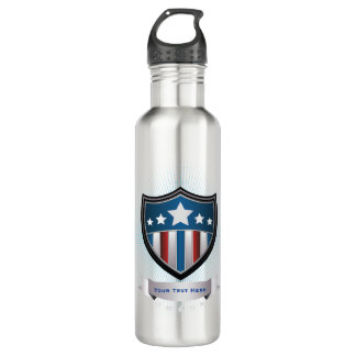 Patriotic USA Re-Usable 710 Ml Water Bottle