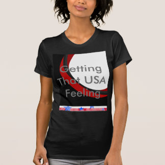 Patriotic USA Stars and Stripes 4th of July T-Shirt
