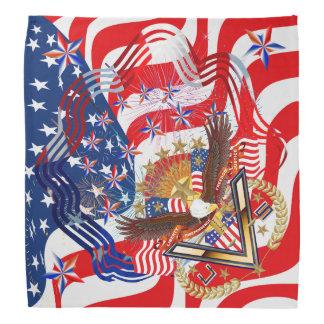 Patriotic Veteran View About Design Kerchiefs