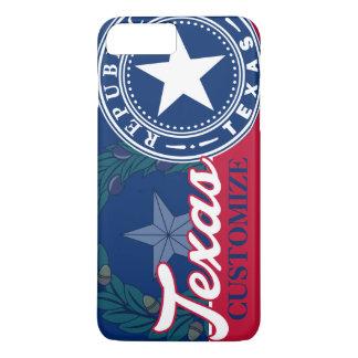 Patriotic Vintage Texas Flag Seal iPhone 7 Plus Case