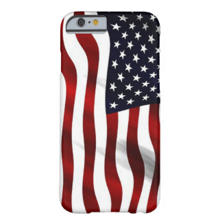Patriotic Waving American Flag Barely There iPhone 6 Case
