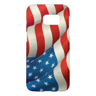 Patriotic Waving U.S. Flag
