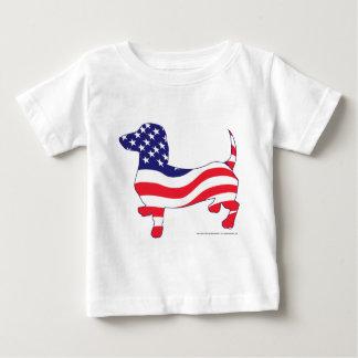 Patriotic-Weiner Baby T-Shirt