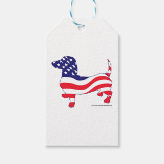 Patriotic-Weiner Gift Tags