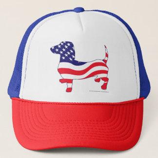 Patriotic-Weiner Trucker Hat