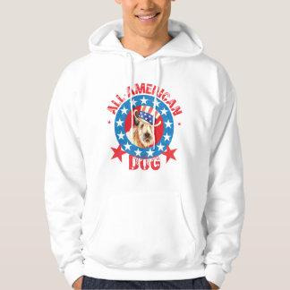 Patriotic Wheaten Hoodie