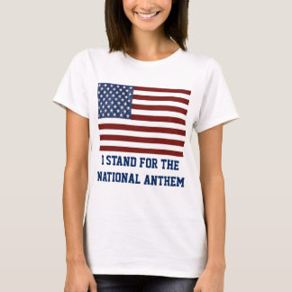 Patriotic Woman's t-shirt with American Flag