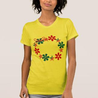 Patriotic Wreath Tee Shirts