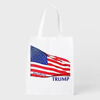 Patriotic Wristlets & Purses Reusable Grocery Bag