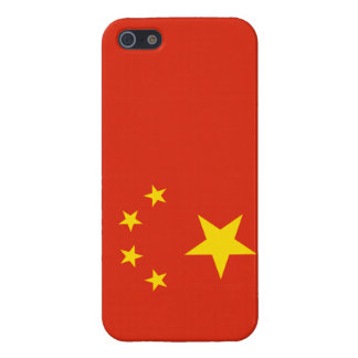 Patriotic Yellow Stars Red Flag China iPhone 5/5S iPhone 5/5S Case