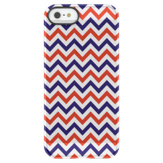 Patriotic Zigs & Zags Permafrost® iPhone SE/5/5s Case