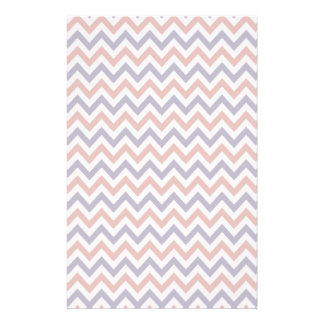 Patriotic Zigs & Zags Stationery Paper
