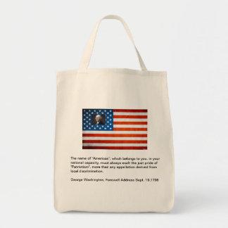 Patriotism Canvas Bag