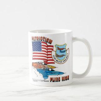 Patriotism Flies High Coffee Mug