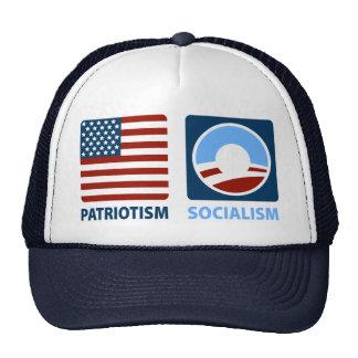 Patriotism or Socialism Mesh Hats