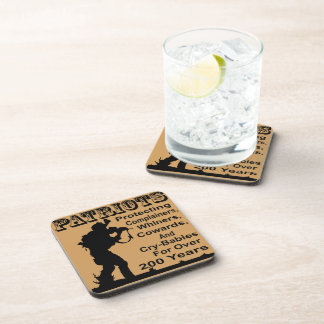 Patriots Protecting Complainers, Whiners, Cowards Coaster