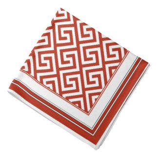 Patriots Red Celtic Key Pattern Bandana