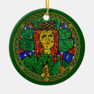 Patron Saint Of Depression And Anxiety St Dymphna Ceramic Ornament